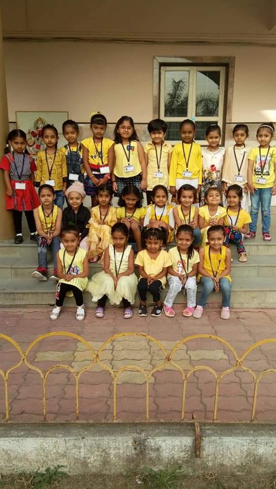 Yellow Day (pre primary section)