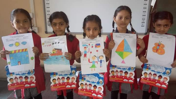 Draw and colour competition