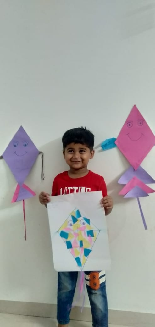 Kite project -2021 (pre primary section)